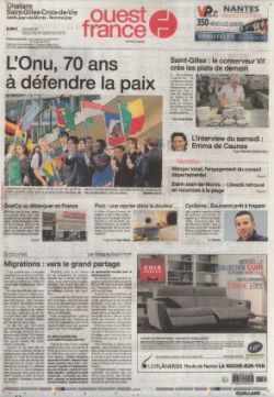 2015-09-27 - Ouest France - N 21646