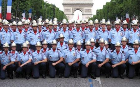 Pompier 14 juillet