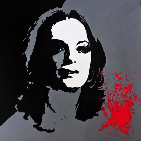 Romy Schneider by Victor Lorenzi