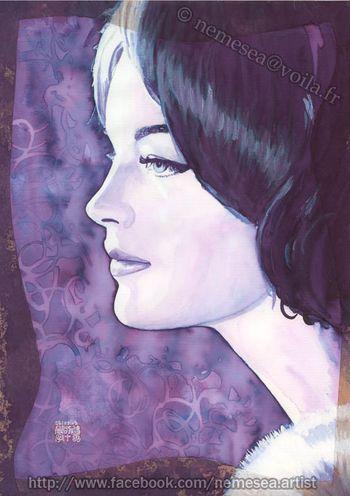 Romy Schneider by Angelnemesea