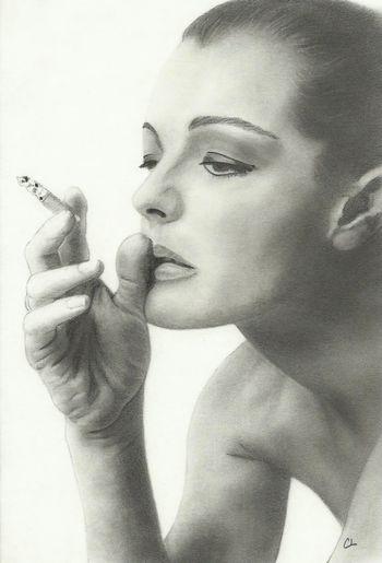 Romy Schneider by Catherine L