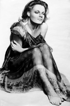 Romy Schneider by Meliepa