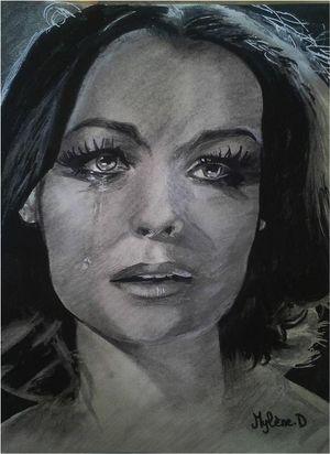 Romy Schneider by Mylened