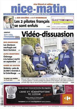 Nice matin 27 octobre 2015 - 1