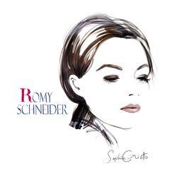 Romy Schneider by Sophie Griotto (3)