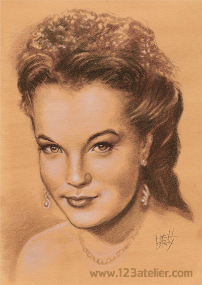 Romy Schneider by Hell Bay (2)