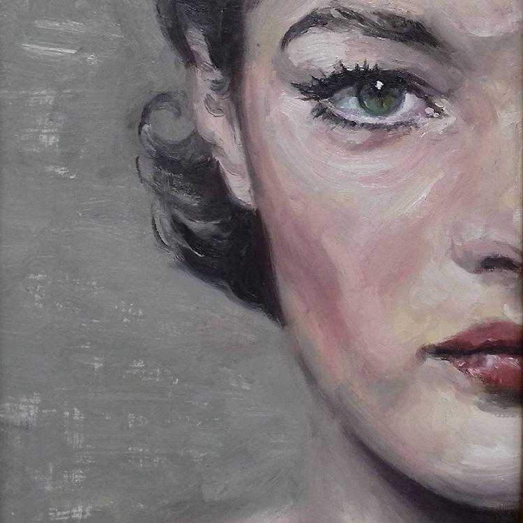 Romy Schneider by Thomas de Marsay
