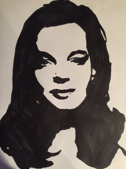 Romy Schneider by Pomah Toppece