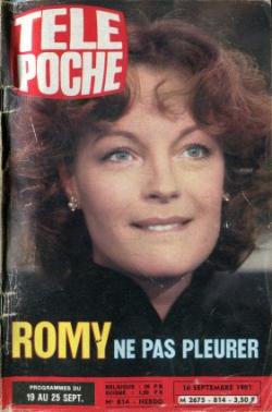 1981-09-19 - Télé Poche - N 814