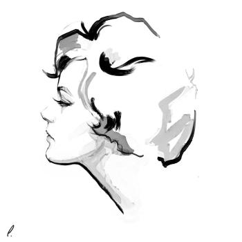 Romy Schneider by Artpunksy