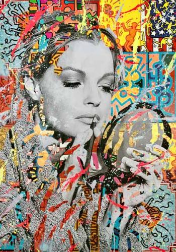 Romy Schneider by Diana Eger (1)
