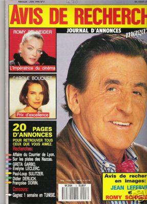 1990-06-03 - Avis de Recherche - N° 3