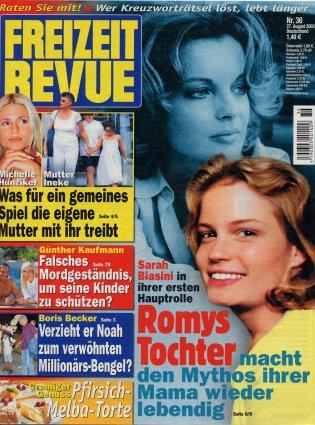 2003-08-27- Freizeit Revue - N° 36