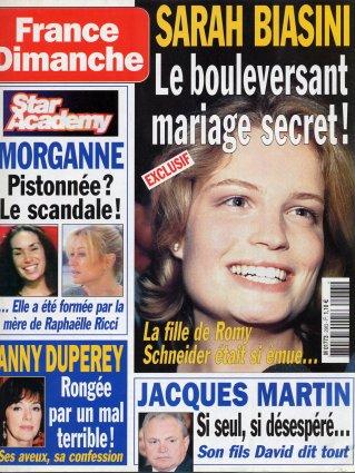 2003-10-31 - France Dimanche - N° 2983