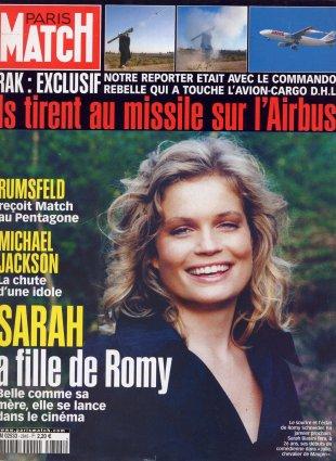 2003-11-27 - Paris Match - N° 2845